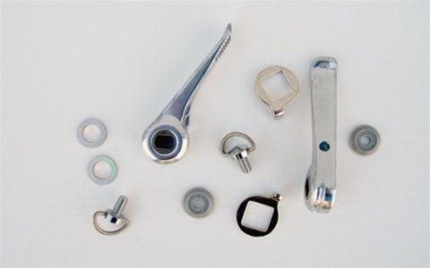 Silver Downtube Shifter Kits - 17101