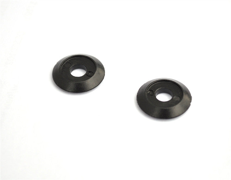 Silver Shifter plastic replacement washers, pair