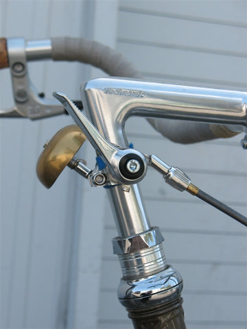 Shifters - Downtube - Silver, Kit