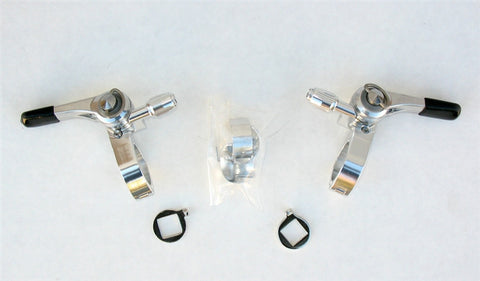 Silver Downtube Shifter Kits