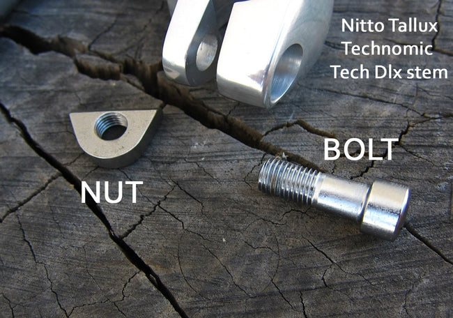 Stem parts - Nitto Tallux bolt and nut