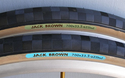 Tire 700c x 33.333 - Jack Brown Green Light