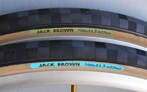 Jack Brown GREEN 700c x 33.333 Light - 10091 - GREEN