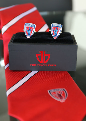 Indy Eleven Tie & Cufflinks Set