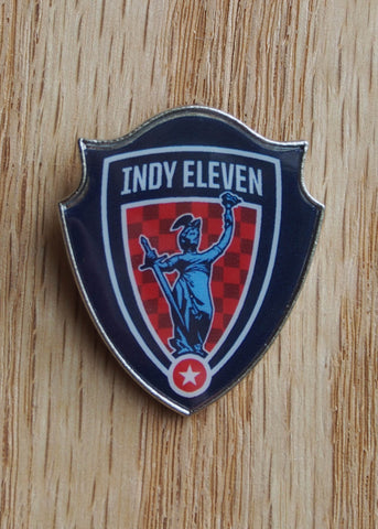 Indy Eleven Shield Lapel Pin