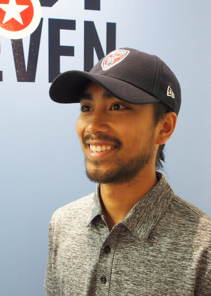 Man in Indy Eleven New Era Hat