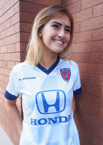 Women's White Indy Eleven Jersey