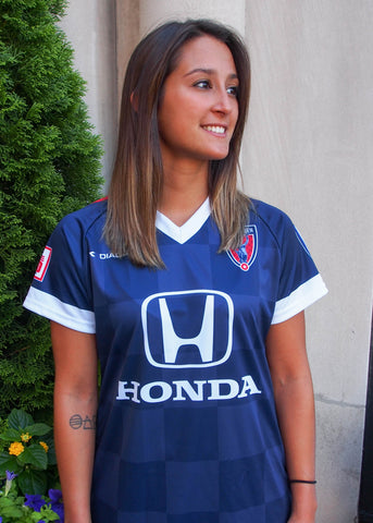 Women's Navy Indy Eleven Jersey