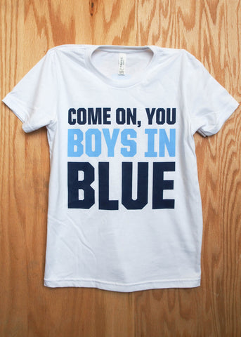 Youth Boys in Blue Tee