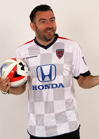 Indy Eleven Player in White Jersey