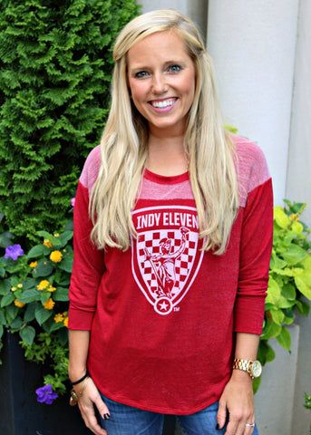 Women's Cardinal 1/4 Sleeve