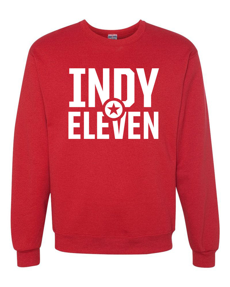 Youth Red Crew Sweatshirt