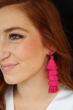 Pop of Pink Earrings