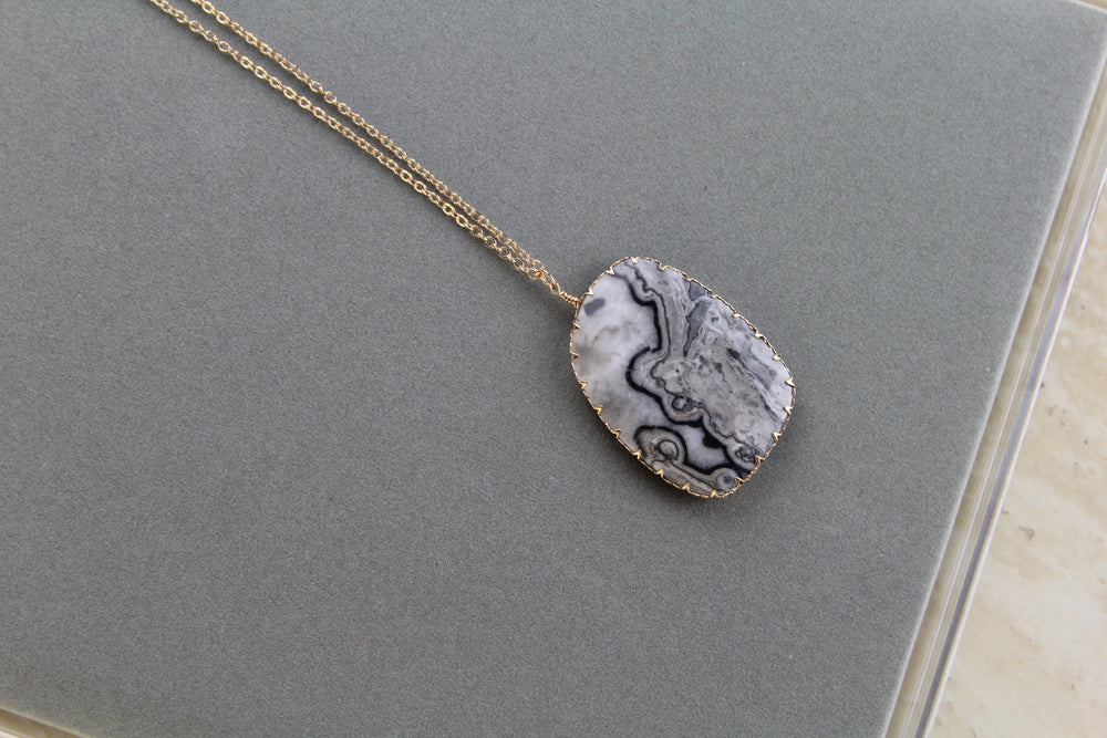 All Marbled Up Necklace
