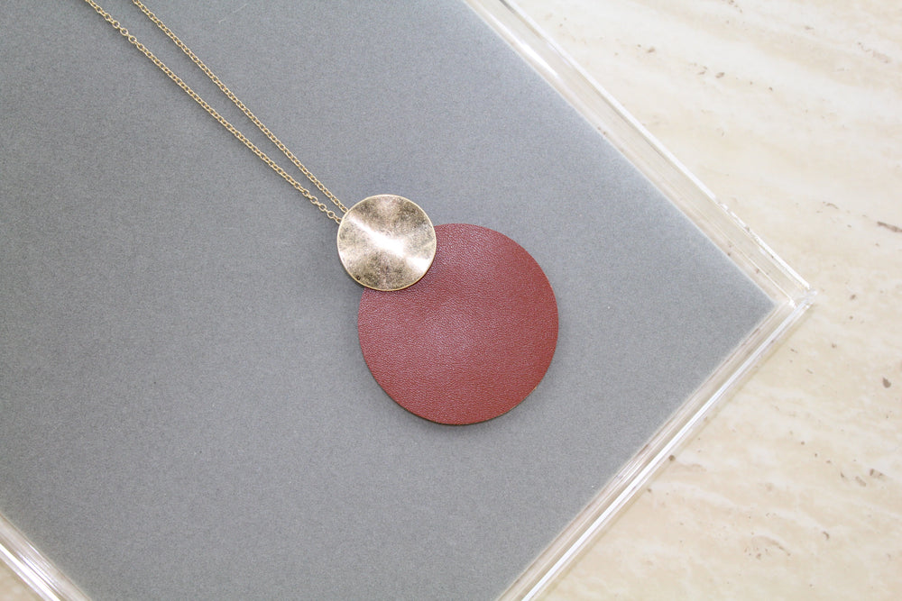 Simple Round Necklace