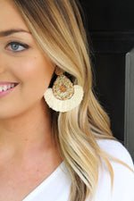 Party Time Earrings - Ivory