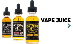Choose from the best popular USA vape juice at wholesale prices. Premium quality e-juice and E-liquid from Cuttwood, Charlie's Chalk Dust, Smithereens 70% VG|30% PG. Finally, you can find exactly what you are searching for.