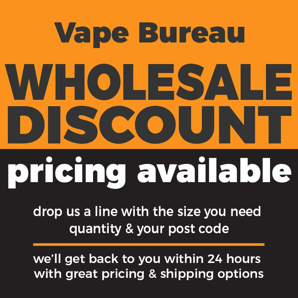 Voted best e-juice storage solution by vapers. With Australia's Largest Range of 10ml, 30ml, 30ml, 50ml, 60ml, 120ml Chubby Gorilla bottles, we guarantee you the lowest wholesale pricing on DIY bottles from our Melbourne based warehouse.