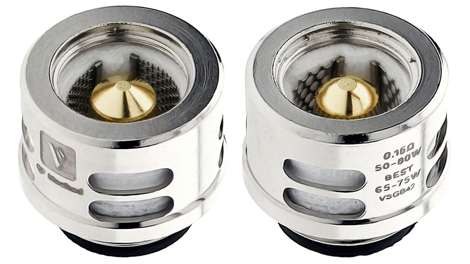The Vaporesso QF Replacement Coils are made for the Skrr Sub-Ohm Tank. These replacement coils are available in GT CCELL, QF Meshed and QF Strip. Each QF coil head is wicked with a blend of flax fibre and cotton, made for increased lifespan