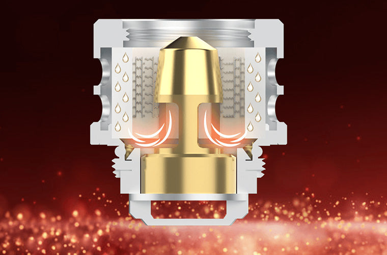 While the tank itself has been designed to impress, the great attention to detail spent by Vaporesso on the QF Replacement Coils shows that the goal was to satisfy, and that goal is being met and exceeded.