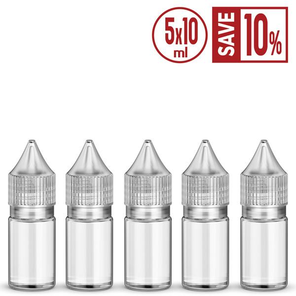 BUY 5 & SAVE 10%-10ml-Gorilla-Style-Unicorn-bottle-(5-pack)-DIY-Vape-Supplies-Vape-Bureau | Australia-AU