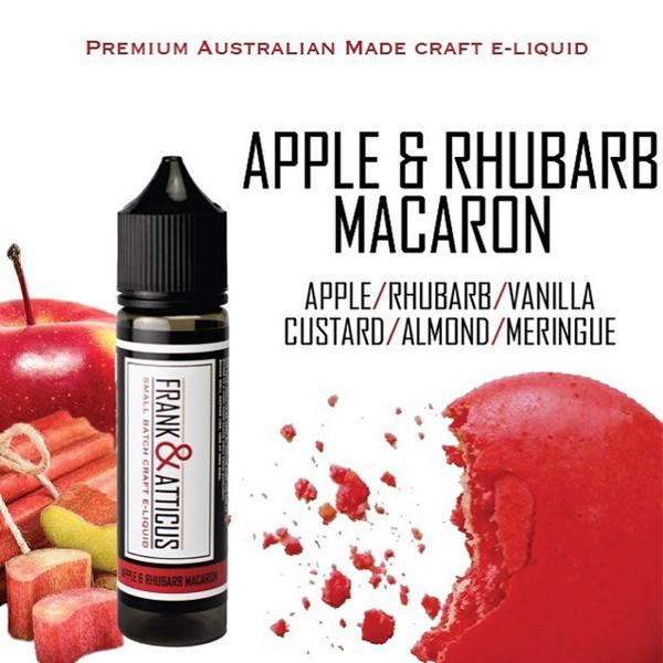 Tangy rhubarb and sweet apples, creamy custard and meringue combine for an authentic-tasting flavour as a surprising favourite vape.