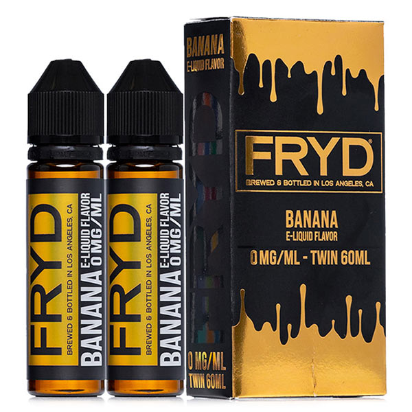 This flavour is so good. FRYD Banana offers a delectable creamy vape with this eJuice jam-packed with wholesome flavour. The inhale delivers the banana foundation supported by the hints of butterscotch. The graham cracker flavour is more prominent during the mellow, creamy finish.