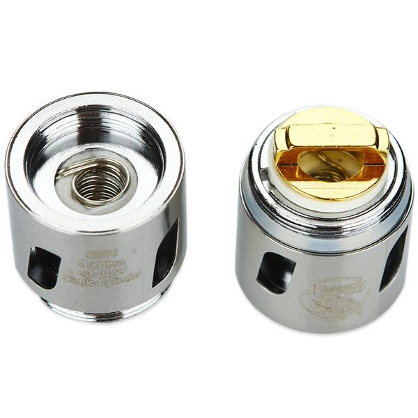 Eleaf engineered new HW series coils. Consisted of SS316L coil, the HW1 Single-Cylinder 0.2ohm Head is capable of working under high wattages and compatible with various vaping modes, providing you with a large amount of vapor production.