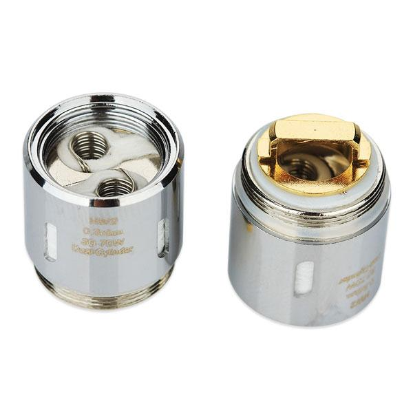 The Eleaf HW2 Dual-Cylinder 0.3ohm Head consists of Kanthal coils and will provide you with an ultra vaping experience of great flavor and great vapor production. Compatible Replacement Coil / Atomiser Head for ELLO, ELLO S, ELLO Mini, ELLO Mini XL, iKonn Total, Eleaf iKonn Total, iKonn 220, iStick Tria, Invoke, iStick PICO 25 Starter Kit