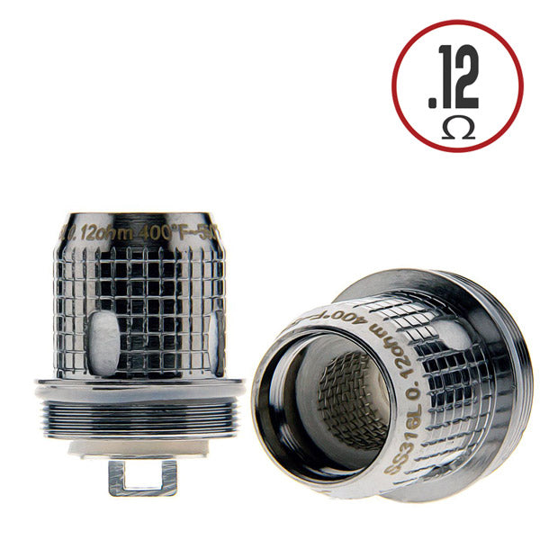 SS316 X1 Fireluke 2 has a single mesh vertical core, 0.12 Ohm Stainless Steel wire. From a pure nominal perspective, a maximum output of 90W may not sound like much.