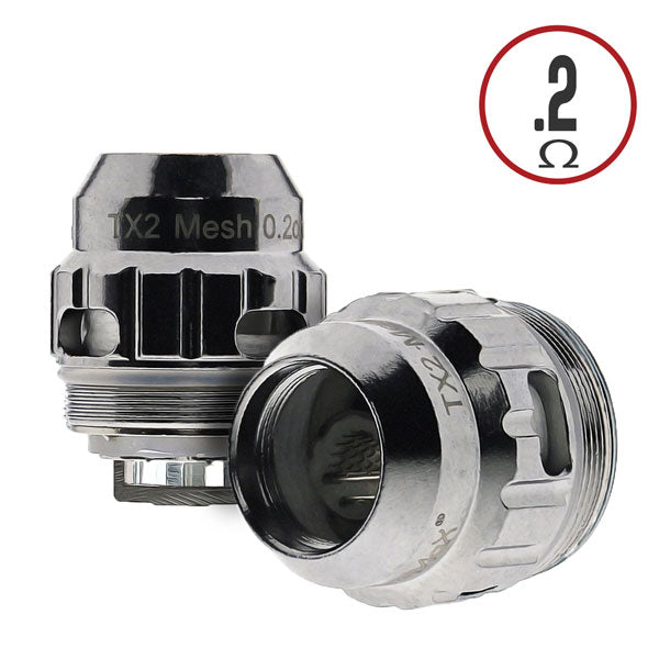 TX2 0.2 ohm Double Mesh Coil, rated for use between 40-80W, with a recommended wattage of 70W.