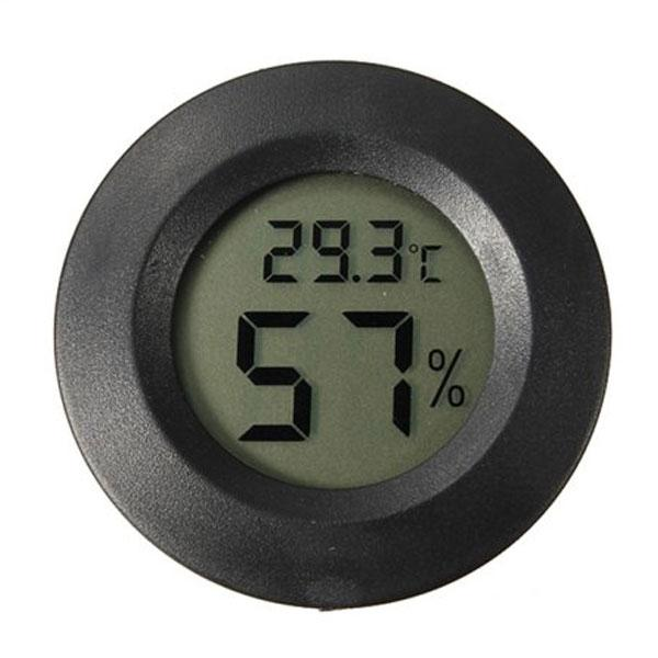 LCD Digital Thermometer & Hygrometer. Monitor the environmental conditions of your stored DIY supplies and vape juice with this easy to use LCD Digital Thermometer & Hygrometer. DIY Vape Supplies-Vape-Bureau-Australia