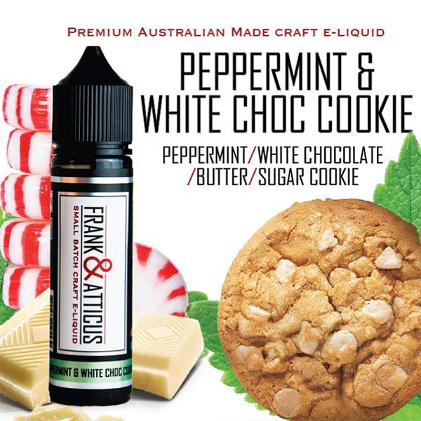 Peppermint White Chocolate Cookie is one of the best vape juices on the market. Perfectly blend of sweet and savory which makes this ejuice delicious and tasty. The buttery notes of the sugar cookie melt into your palate, making your mouth water like never before.