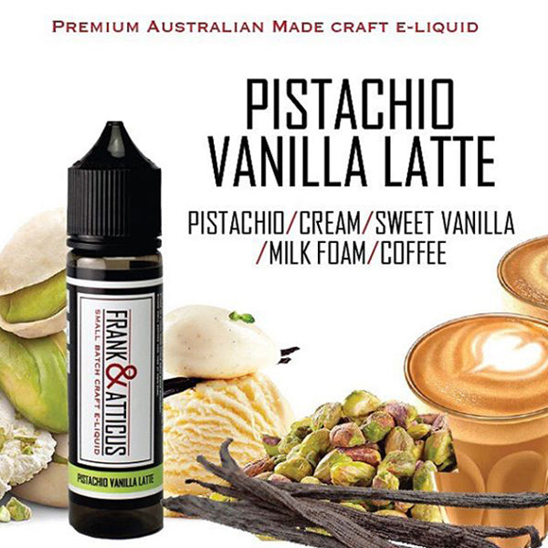 Pistachio Vanilla Latte by Frank & Atticus is a frothy pistachio coffee that's incredibly delicious and satisfying. Nutty and frothy, the vanilla bean and creamy milk make it a specialty coffee drink and better than any latte you can get at a coffee shop.