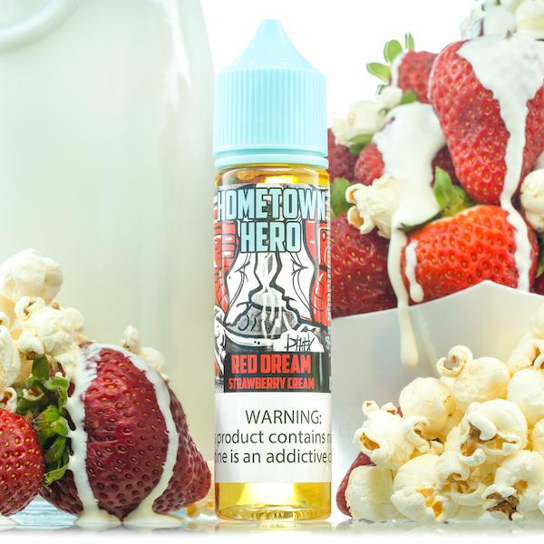 Red Dream EJuice | Hometown Hero Vapor | 60ml