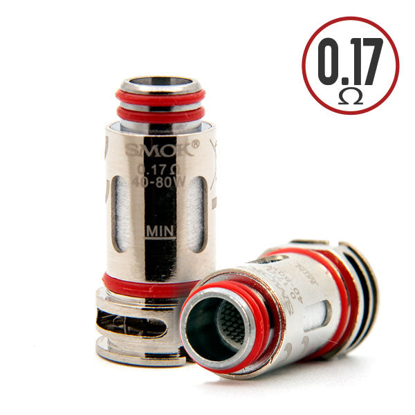 5 pack of replacement RGC conical mesh coils powered by nexMesh. Compatible with a variety of SMOK devices, including the RPM80 series kits (base and pro models), and SMOK's Fetch Pro kit.