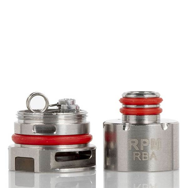 The Smok RPM40 RBA is a rebuildable RBA Core for the Smok RPM80 Pro Device and the Smok Fetch RPM Pod.   This rebuildable coil deck for the Smok RPM is exactly what you need to customise your device to your exact tastes. Allowing you to install any coils you like as long as the minimum resistance is no lower than 0.25ohms. The RPM RBA coil comes pre-installed with a 0.6ohm coil that produces beautiful flavour and a decent vapour production to match.