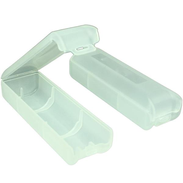 Tuff Plastic Clear Storage Box for 18650 Rechargeable Battery