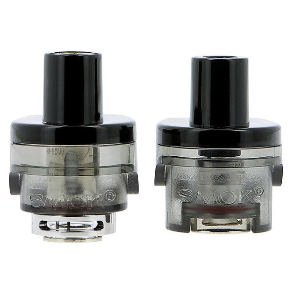 SMOK RPM80 Pro Empty Pod Cartridge is designed for SMOK RPM80 Pod Mod Kit, which features 5ml oversized e-juice capacity, meet your long-term vape use. There are two types of SMOK RPM80 and RGC Pods are two pod options bring double vaping pleasures.  It is worth mentioning that, RPM80 RGC Pod is SMOK's first pod with adjustable airflow. Just like an atomizer, the adjustable airflow ring at the bottom can be rotated to adjust the air input.