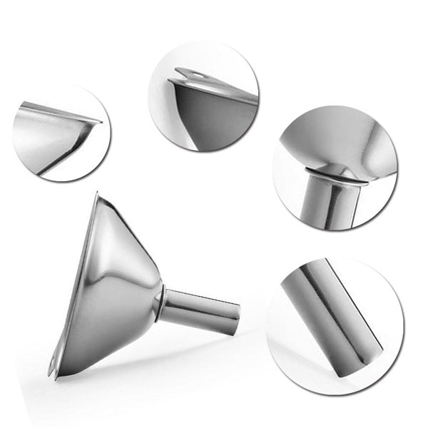 Stainless Steel Funnels | Small | Medium | Large