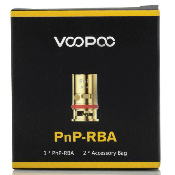 The VOOPOO PNP RBA Coil is a versatile coil which is specially designed for the VOOPOO DRAG Baby Trio starter kit but is also used for many other Voopoo kits like the VOOPOO VINCI R Mod Pod Kit, and the Voopoo Vinci Mod Pod Kit.