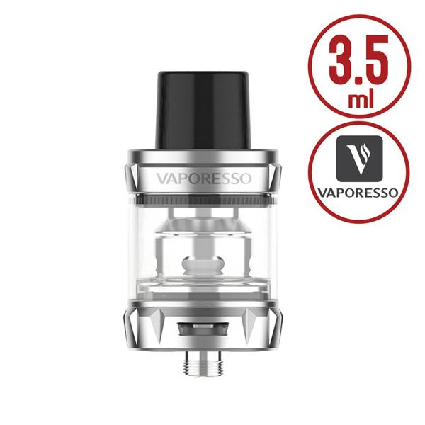 The Vaporesso SKRR-S Mini Tank is small and compact with 3.5ml e juice capability, with convenient top refill design and dual airflow adjustable slots on base, it comes with the innovative QF coil heads, the new QF coils bullet-shaped inner structure controls air flow to prevent spit back, it combines the use of airflow and an internal reservoir, it has minimized leaking, the eliminating cold air intake gives warmer, richer flavours.