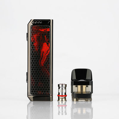 The VINCI X 70W Mod Pod Kit by VOOPOO is a top vape manufacturer that aims to develop high-quality vape devices for the electronic cigarette industry. They've produced many quality vape products over the years, such as the DRAG 2 177W Box Mod with the iconic resin display. Now VOOPOO has expanded its product selection, releasing a stunning Mod Pod Kit, the VOOPOO VINCI X 70W Mod Pod Kit.