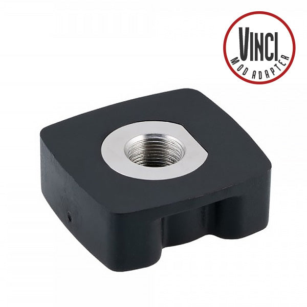 The Vinci adapter has a very simple appearance. Since both the outer shape and the contact part are for VINCI, it can be applied to VINCI X which can use VINCI and 18650 battery at present, and VINCI R  Pod Kit.