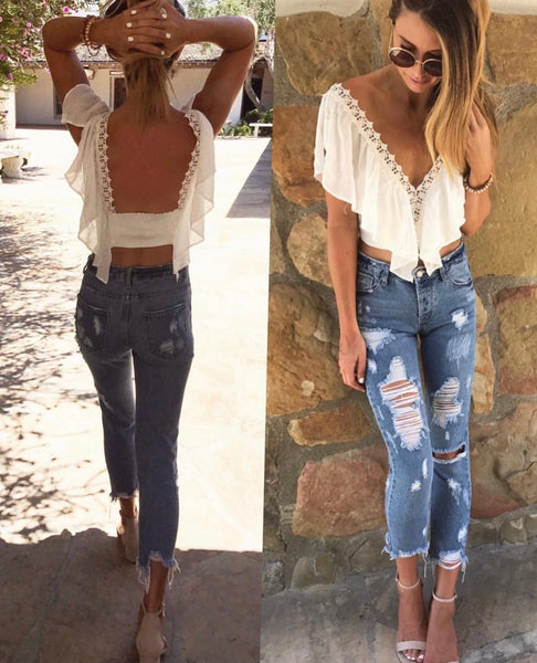 Angel Wings Top