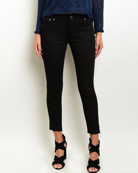 Richards Freyed Ankle Jeans