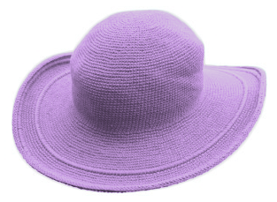 C3 Cotton Crochet Hat-Lavender