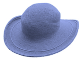 C3 Cotton Crochet Hat-Periwinkle