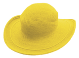 C3 Cotton Crochet Hat-Sunflower Yellow