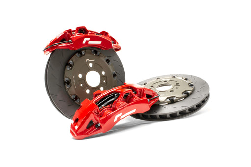 VWR: BRAKE UPGRADE - STAGE 3 FORGED MONOBLOCK BRAKE UPGRADE FLOATING 6 Pot - f-tech-motorsport-shop
